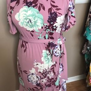Reborn J Dress with tulip sleeve